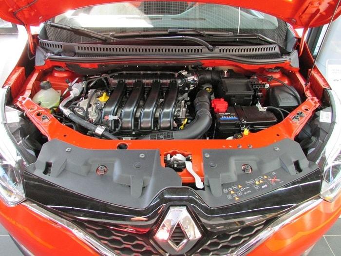 двигатель в Рено Каптур