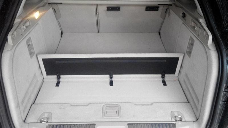 перевозка вертикального груза в багажнике лагуна 3