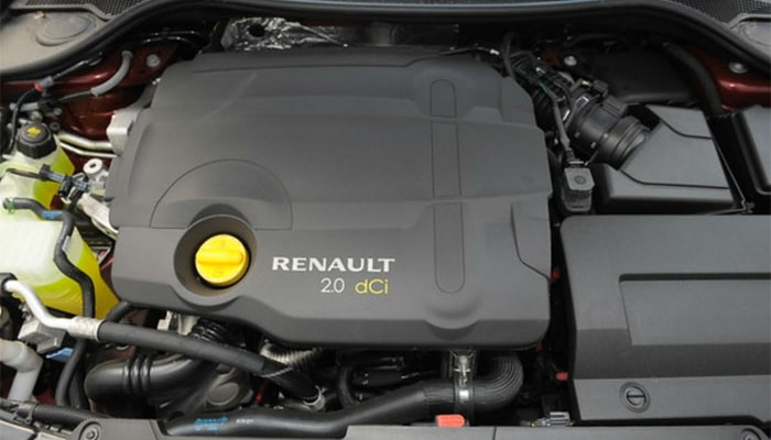 Renault Laguna III двигатель