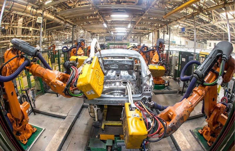 Роботы завод Рено