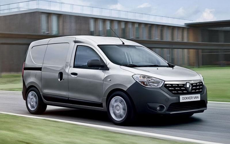 Renault Dokker Van-вид спереди