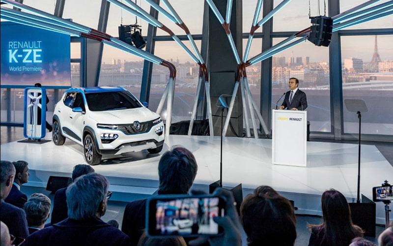презентация Renault K-EZ