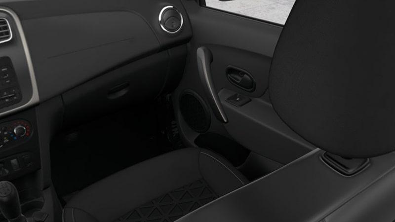 место переднего пассажира