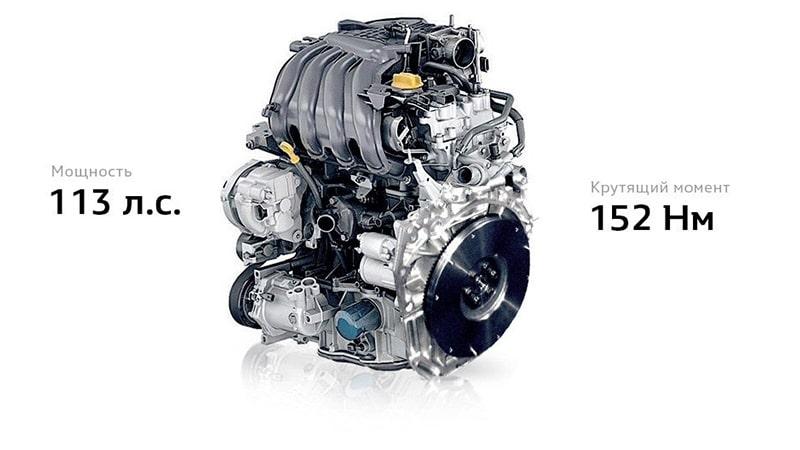 двигатель 113л.с.
