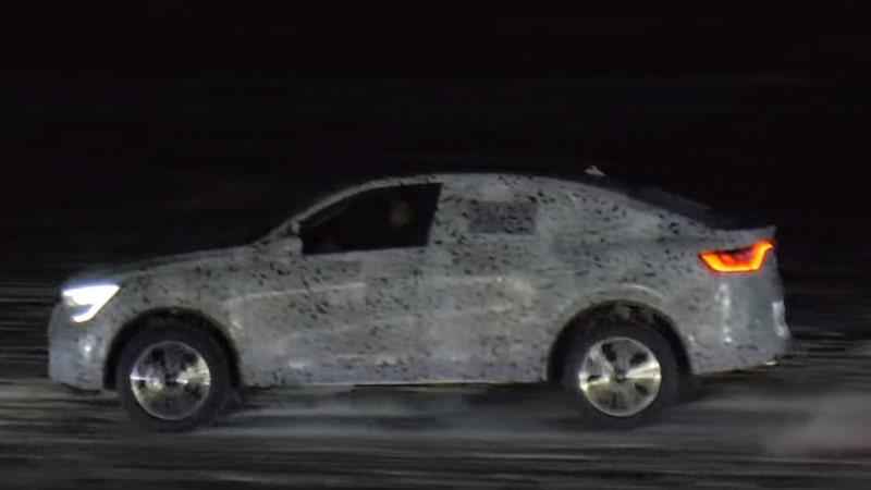 Renault Arkana на льду