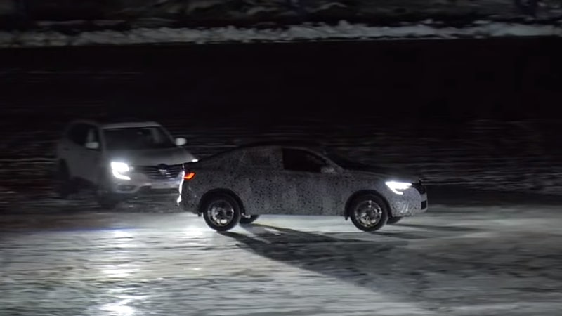 Arkana на льду в Карелии