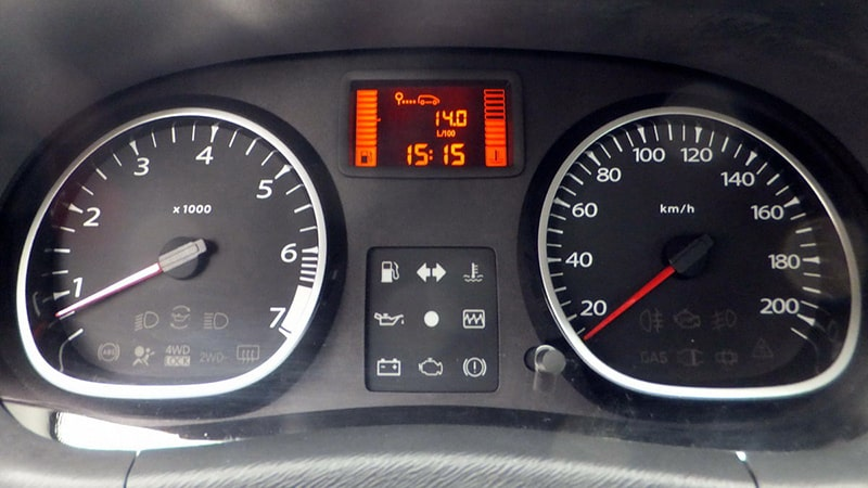 Панель задач Renault Duster