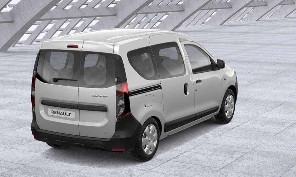 Renault Dokker вид сзади