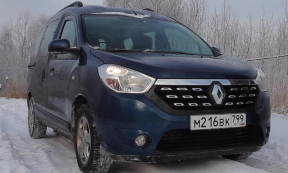 Вид спереди  Renault Dokker